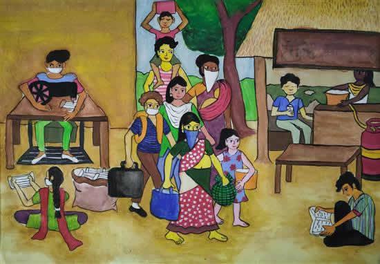Sattwiki Purkait (14 years), Hooghly, West Bengal
