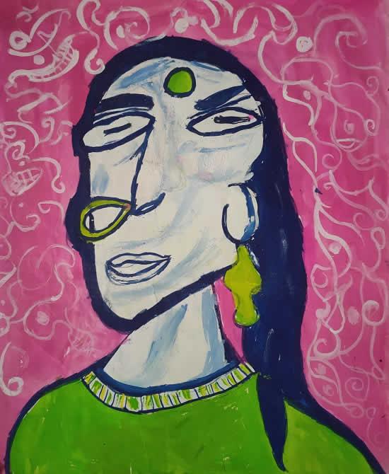 painting by Shailee Sanghavi