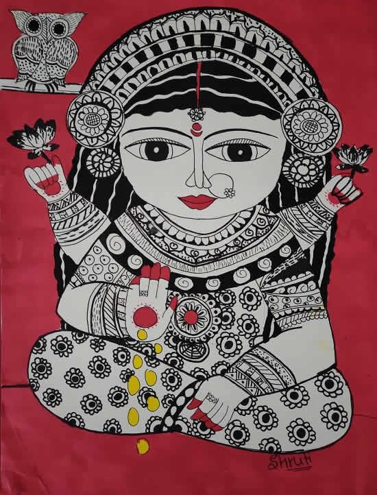 painting by Shruti Purohit