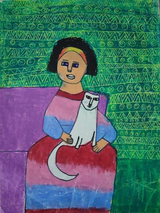 painting by Urmi Shah
