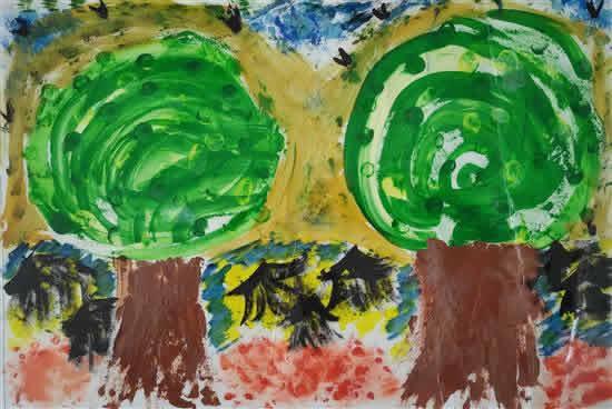 painting by V. Sai Vishva