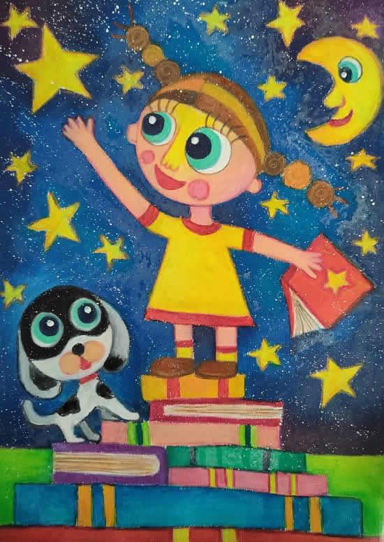 painting by Viara Pencheva