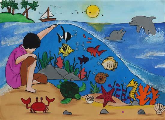 painting by Akshaya Prashant Kulkarni