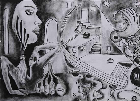 painting by Kanissha Srivastava