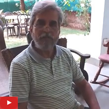 Milind Phadke talks about Khula Aasmaan and Art on Postcard (Marathi)