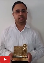Vikas Sathaye talks about the Oscar he received - Scientific and Technical Award