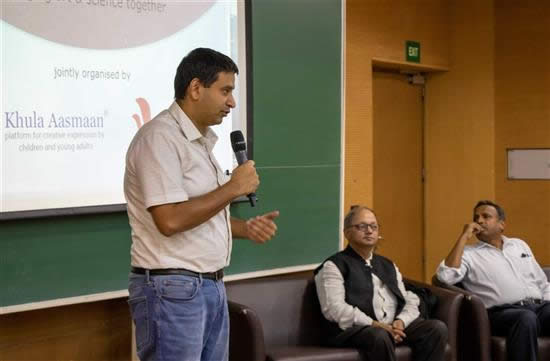 Dr. Harinath Chakrapani talks about the painting competition