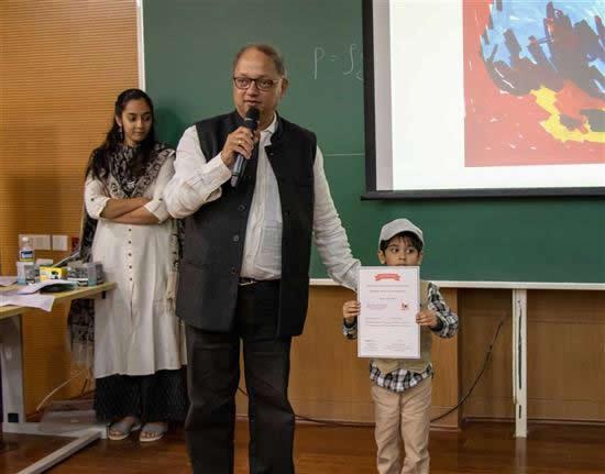 Milind Sathe appreciate Shaurya Chugh