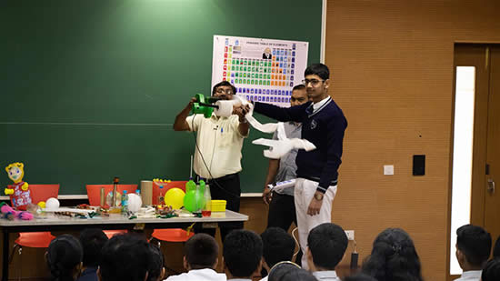 Experiments at Science Workshop 1