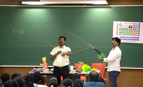 Experiments at Science Workshop 7