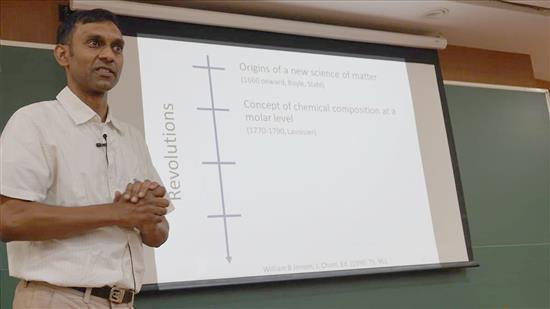 Story of Chemistry talk by Anirban Hazra 5