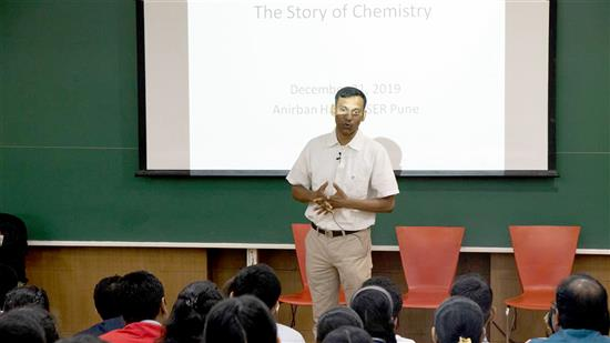 Science lecture - Story of Chemistry by Dr. Anirban Hazra