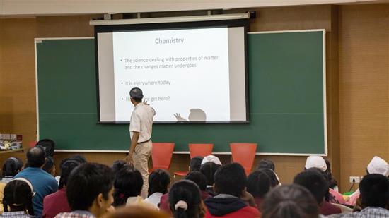 Dr. Anirban Hazra talks about Chemistry