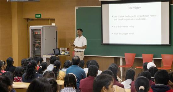 Dr. Anirban Hazra talks about Story of Chemistry