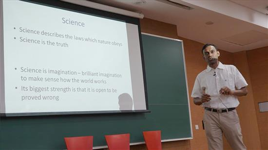 Story of Chemistry talk by Anirban Hazra 2