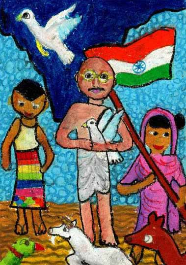 Art contest result – World of Mahatma Gandhi