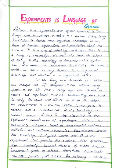 Compare And Contrast Essay Sample Paper  How To Write A Good Essay For High School also High School And College Essay Science Essay Contest For Children   Prize Winning Essay Persuasive Essay Example High School