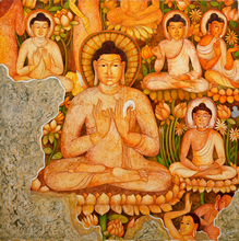 Buddhism - In stock painting
