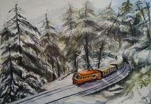 Childhood memoirs, Painting by Varsha Shukla