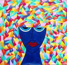The Beautiful Mind, Painting by Madhu Awasthi