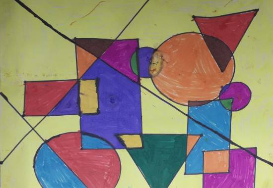 Painting  by Joysi Ajay Pardeshi - Shapes
