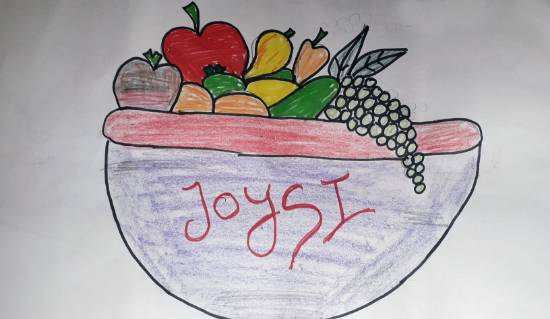 Painting  by Joysi Ajay Pardeshi - Fruits