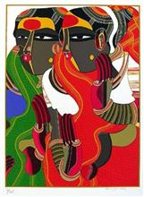 Untitled VII, Limited Edition Print by Thota Vaikuntham