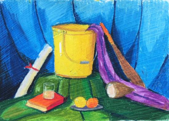 Painting  by Pratyush Kuldeepsinh Jagtap - Still life