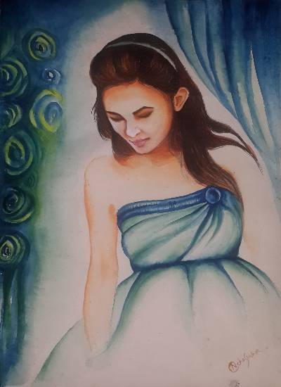 Painting  by Neha Sinha - I me myself