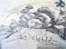 Painting  by Ananya Bansal - Landscape - 1