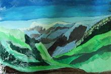 Hills - In stock painting