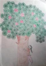 Painting  by Bhumika  - Save Trees