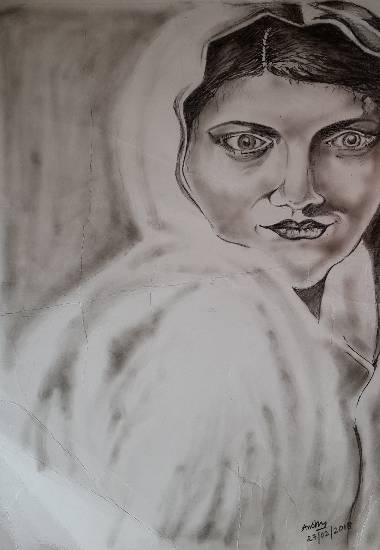 Painting  by Anshu Kumari - Portrait