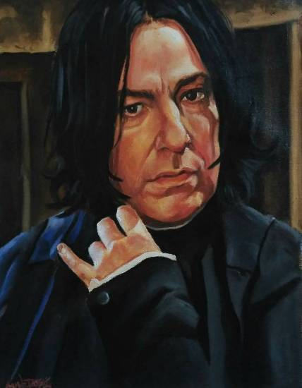 Painting  by Shwetabh Suman - Severus Snape (Harry Potter series)
