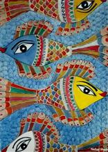 The Purusharth, Painting by Nehal Shah