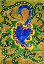 The Krishna, Painting by Nehal Shah