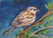 Birds and Animals - 3, painting by Pratibha Kelkar