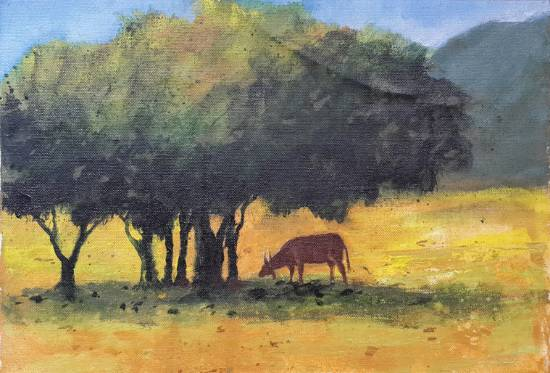 painting by Sneha Shinde - Landscape