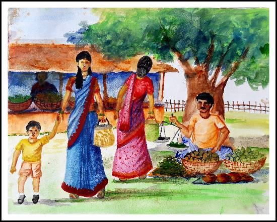 painting by Sneha Shinde - Memory