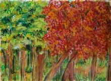 Untitled - 1, painting by Rajeshri Sawant