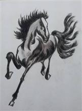 Horse - 5, Painting by Amrita Banerjee