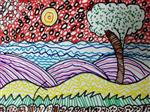 painting by Ritisha Goyal - Pattern Drawing