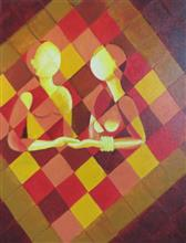 Togetherness, Painting by Gauri Kodule