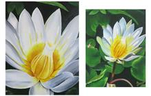 Nature - Lotus, Painting by Gauri Kodule