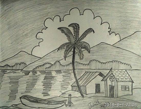 Painting  by Jainil Bhavsar - Natural