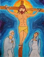 Painting  by Aneeka Banerjee - Jesus Christ
