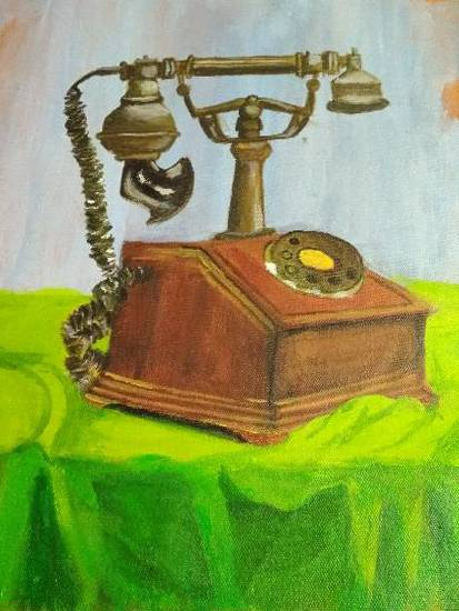 Painting  by Harshini  - Telephone