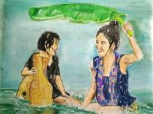 Painting  by Harshini  - Girls