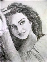 Painting  by Harshini  - Woman - 1