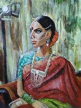 Painting  by Harshini  - Lady